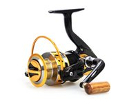Wholesale New Top quanlity Ratio BB Spinning Fishing Reel Carp Ice Fishing Gear Casting pole rock wheel