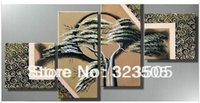 abstract artwork for sale - wall art canvas huge Modern abstract Tree panel artwork home decoration picture sets oil painting for sale