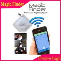 Wholesale Magic Finder Bluetooth Tracker Anti Lost Item Fast Finder Tracking Free APP Works with any Smart Device