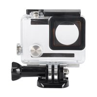 Wholesale For GoPro Hero Case High Transparent Sports Camera Professional M Waterproof Housing Case With Bracket for GoPro Hero
