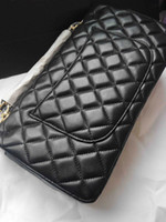 Wholesale High Quality Fashion Women s Lambskin Double Flaps Bag Quilted Chain bag Gold Silver Hardware Customization cc37 Bag