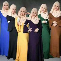 bell for sell - Factory selling Fashion Muslim Dress Abaya in Dubai Islamic Clothing For Women Muslim Abaya Jilbab Djellaba Robe Musulmane EID