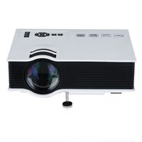 Wholesale Projector Mini LED LCD Projectors Unic UC40 D Proyector Full HD P Media Player Home Theater Supports HDMI VGA USB Xbox Game TV Beamer