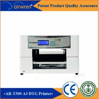 Wholesale super a3 size printing machine direct to garment image satin ribbon printer for AR t500 t shirt printer