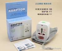 Wholesale 100pcs Universal International All in One Travel Power Plug Adapter