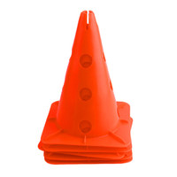 Wholesale Football Soccer Roller Cone Training Sport Safety Traffic Marker Cone Football Soccer Roller Best Seller