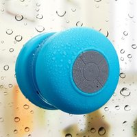 Wholesale Bluetooth Speaker Portable Wireless Water Waterproof Resistant Car Hands Free Speaker with Suction Cup Auto Pairing Feature and Compatible