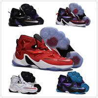 Wholesale With original boxes air Basketball Shoes Lebron Men Boys Retro Sneakers Good Quality Original Discount LB XIII Sports shoes