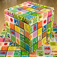 Wholesale Cartoon Learning Puzzles for Kids Beauty Floor Climb Mats Learning Toys Alphanumeric Fruits Letters Crawling Puzzles