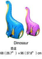 Wholesale 1PC cm Dinosaur Balloons Aluminum Foil Balloon Jurassic World Globos Party For Dinosaur Party Supplies Toys