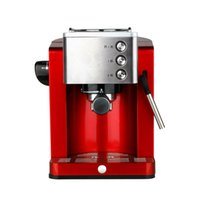 automatic commercial espresso machine - type semi automatic coffee machine household high pressure steam milk bubble machine Coffee Makers Cafe commercial