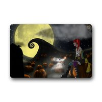american nightmare - The Nightmare Before Christmas Designer Bathroom Carpet Set Doormat Mat Indoor Outdoor Front Door Mats x18 x15 Inches