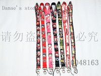 Cheap 10pcs Free shipping Betty Boop neck Lanyard Cell Phone PDA Key ID Holder strap Mix order