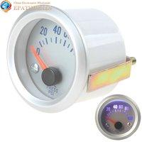 Precio de Pressure sensor-0 ~ 100PSI Light Blue Auto Car Oil Indicador de presión del medidor con el sensor