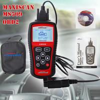 achat en gros de car diagnostic scanner-Marque nouvel affichage LED Car Vehicle Fault Code Lecteur Scan MS509 KW808 OBD2 OBDII EOBD Scanner lecteur de code de voiture Diagnostic