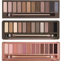Wholesale Hot sale Best Makeup Eye Shadow color eyeshadow palette NUDE via Epacket