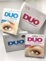 Wholesale DUO EyeLash Glue White black Makeup Adhesive Waterproof False Eyelashes Lady makeup tool DHL PC