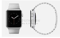 Apple Watch banda de acero inoxidable de repuesto Smart Watch Band Link pulsera plegable corchete para Apple Watch 38MM 42MM paquete al por menor