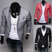 Wholesale lowest price men s suit jackets slim fit blazers jackets coats colors PX17 DROP SHIPPING
