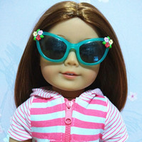 Wholesale Glasses for American Girl Doll inch Doll Accessories Glasses with Track Code