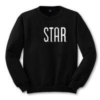 Men bape book - Fashion Loose Black O neck Sweatshirts STAR Jumper The Flash City Comic Books Plus Size Pullovers Streetwear Male Clothes tx1904