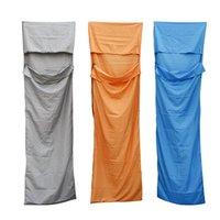 Wholesale Ultralight Outdoor Sleeping Bag Polyester Pongee Portable Single Sleeping Bags Camping Travel Sleep Bag Colors