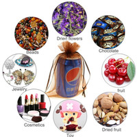Cheap 9 Size Drawstring Organza Wedding Party Favor Gift Candy Bags Jewelry Packing Jewelry pouch organza bag Candy bag LC323-2