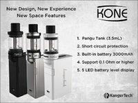 architecture kit - Kanger KONE Starter Kit With mah Battery ml Tank Unique Architecture to Reduce Condensation Dual Airflow Slots Original VS JUPPI Kit