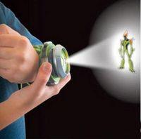 ben ten ultimate alien toys - LJJG348 Ben Ten Alien Force Ultimate Omnitrix Watch Bandai Illuminator Watch Lights n Sound Ben10 Toys Children Toy