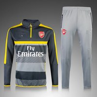 Rugby arsenal mix - 16 Arsenal grey with line yellow sweater tracksuit Sport training Suit men s Clothes Trackring suits Male Hoodies mix order