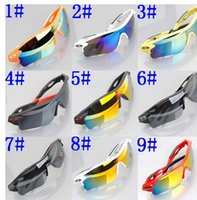 Wholesale high quality male ms double color cycling wind lens sunglasses sports glasses kinds of color TYJ020