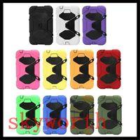 Cheap Folding Folio Case ipad heavy duty Case Best 7'' For Samsung tab 4 heavy duty case