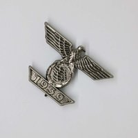 armed forces - Imperial Eagle Repeat clip Iron Cross Pin badge Armed forces WW2 Military Black German Collection Cosplay