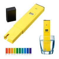 Wholesale Digital PH Tester Meter Pocket Pen Aquarium Pool Water Wine Urine LCD Pen Monitor INS_210