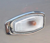 Wholesale High Quality pair ABS Chrome Turn light Directional lamp Cover FIt for Hyundai TUCSON