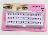 Wholesale 60pcs Set mm Individual Lashe Black Natural Fake False Eyelash Long Cluster Extension Makeup