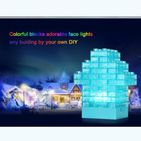 baby stackable toys - DIY Block Building Puzzle LED Baby Nightlight USB Battery Powered Gadget Stackable Lamp Color Changing Brick Light Kids Pen Pot Toy