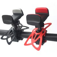 bicycle bands - Bike Bicycle Motorcycle Handlebar Mount Holder Phone Holder With Silicone Support Band For Iphone Samsung GPS Universal With Retail Package