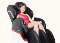 Wholesale DHL luxury home multifunctional robot body electric massage chair massage chairs with foot wheel