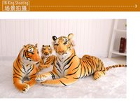 Wholesale 2016 new hot fashion special comfortable soft Siberian tiger dolls to send friends and relatives Christmas gifts