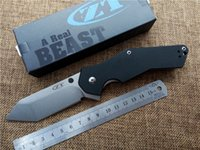 Wholesale Zero Tolerance ZT Tactical Folding Knife G10 Handle Knife Camping Hunting Knife Outdoor Survival Tool ZT0700 Pocket Knives