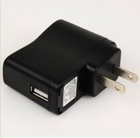 Wholesale Charging plug USB charger charging head mA V mobile phone MP3 power supply plug G