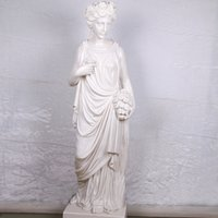beautiful sculptures - Hand Carved Carrara Marble Statue Beautiful Women Stone Sculpture resin sculpture customer customized for home garden