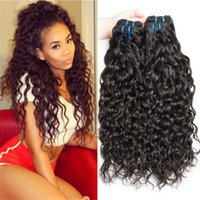 Wholesale 8A Grade Brazilian Water Wave Hair Weaves Wet And Wavy Hair Bundles G Brazilian Human Hair Extensions