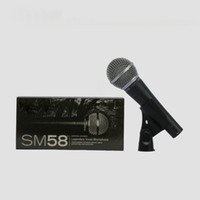 Wholesale New Top Quality SM58LC Wired Dynamic Cardioid Professional Microphone Legendary Vocal Microfone Mike Mic SM LC