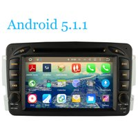 Wholesale Android For Benz Vaneo Vito Viano W210 W203 W168 A170 W209 W208 W163 W463 Car DVD Player GPS Navi Radio