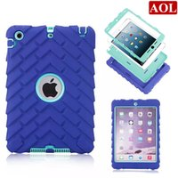 apple ipad choices - 3in1 Defender shockproof Robot Case military Extreme Heavy Duty silicon cover for ipad mini Retina colors choice DHL free