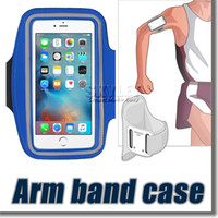 armed bands - For S7 Edge Case Iphone Waterproof Sports Running Armband Case Workout Armband Holder Pounch For Iphone Cell Mobile Phone Arm Bag Band