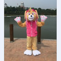 Wholesale New Style High Quality Popular Patrol Dog Mascot Costume Halloween Costume Cartoon Characters Anime Dress Mix Order