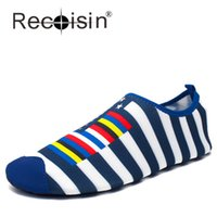 adult swim shoes - RECOISIN Summer Style Beach Shoes Outdoor Swimming Water Shoes Adult Unisex Soft Shoes Zapatos Lover Shoes S91